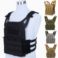 Abay JPC Molle Airsoft Tactical Vest Armor Body Plate Carrier Wargame Military Army Equipment Combat Hunting Vests