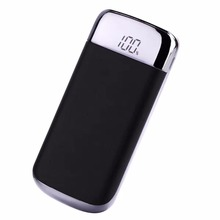 20000mAh Portable External Battery Power Bank Double USB Led Digital Display Powerbank For iPhone Samsung Xiaomi Phone Powerbank
