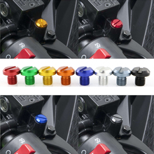 Motorcycle Mirror Hole Plugs Screws Fit For YAMAHA MT-07 FZ 07 MT 09 FZ 09
