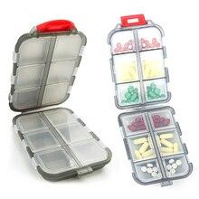 Новая удобная коробка для лекарств, 12 сеток, диспенсер для таблеток, органайзер для таблеток, кейс для таблеток, контейнер, разделитель для лекарств