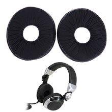 Almofada de couro para fone de ouvido, 1 par de almofada para fones de ouvido rp, capa para técnicos rp dj1200 dj1210