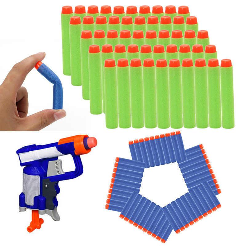 เติมลูกดอกกระสุนสำหรับ NERF N-Strike Elite Blasters ชุดของเล่นเด็กปืน Bullet โฟมอุปกรณ์เสริม