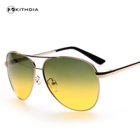KITHDIA Brand Day Night Goggles Day Night Outdoor Sport Sunglasses Men Women Driving Glasses Anti Glare
