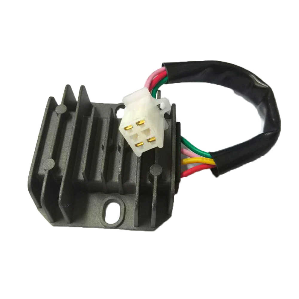 Detail Feedback Questions about 4 Wires Voltage Regulator Rectifier
