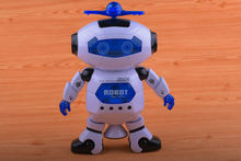 цена на Dance Dancing Robot Electronic Walking Toys With Music Light Gift For Kids Astronaut Toy to Child CP99444-2 Smart Space FSWOB