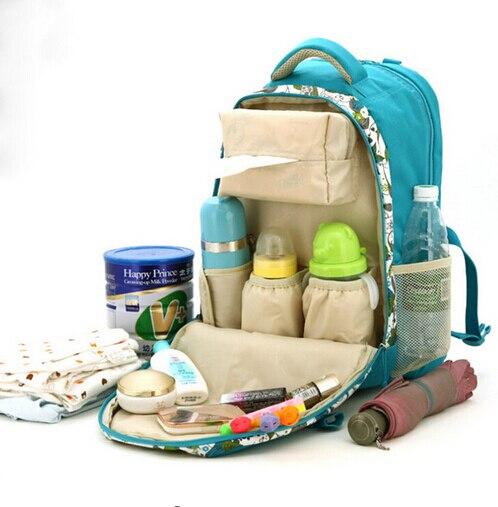 ФОТО Multifunctional Fashion Mummy Shoulder Bag Waterproof Diaper Bag Stroller Baby Bag Large Capacity Diaper Backpack