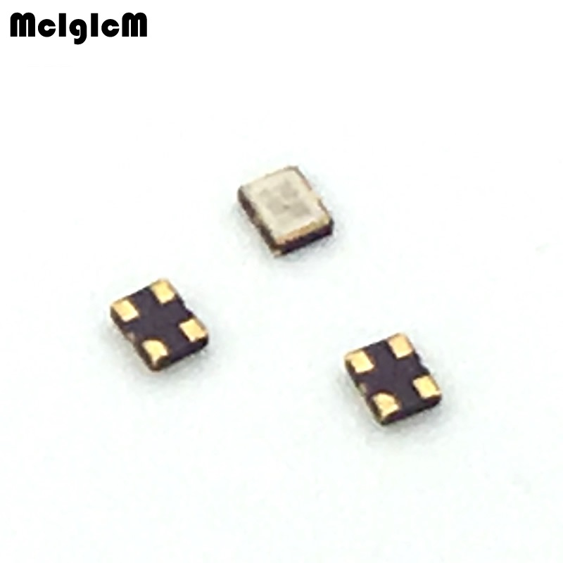 oscillators 100pcs 30ppm 15pf 8MHz 8 000mhz 3 3V 3225 oscillator active