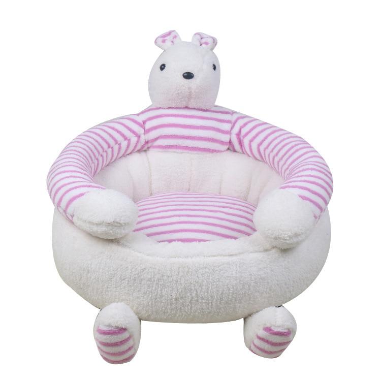 Pet Supplies Creative Lovely Soft Comfortable Rabbit Shape Princess Dog Bed Kennel Cat Nest Teddy Pet Waterloo Winter Warm Nest