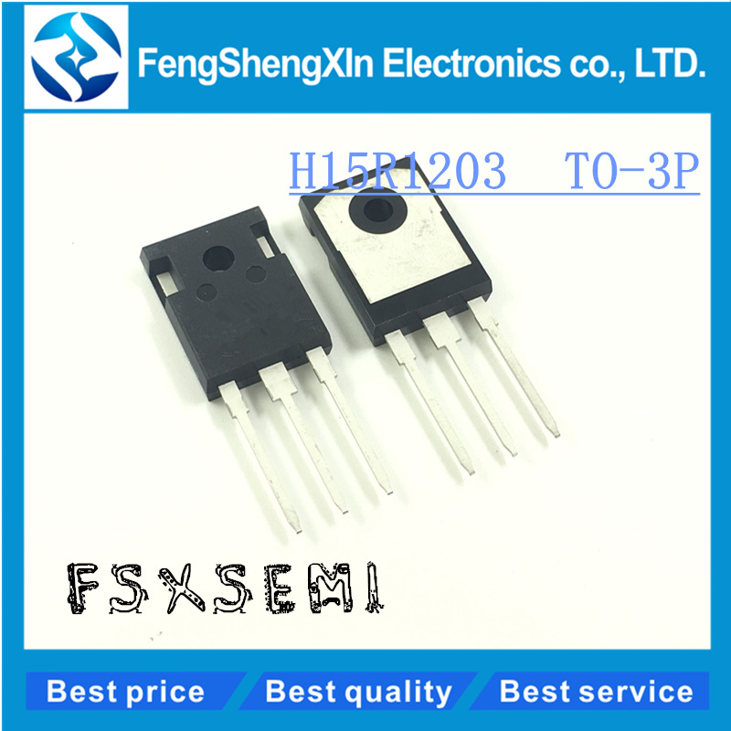 10pcs/lot    H15R1203  TO-3P  IHW15N120R3   Induction cooker power tube
