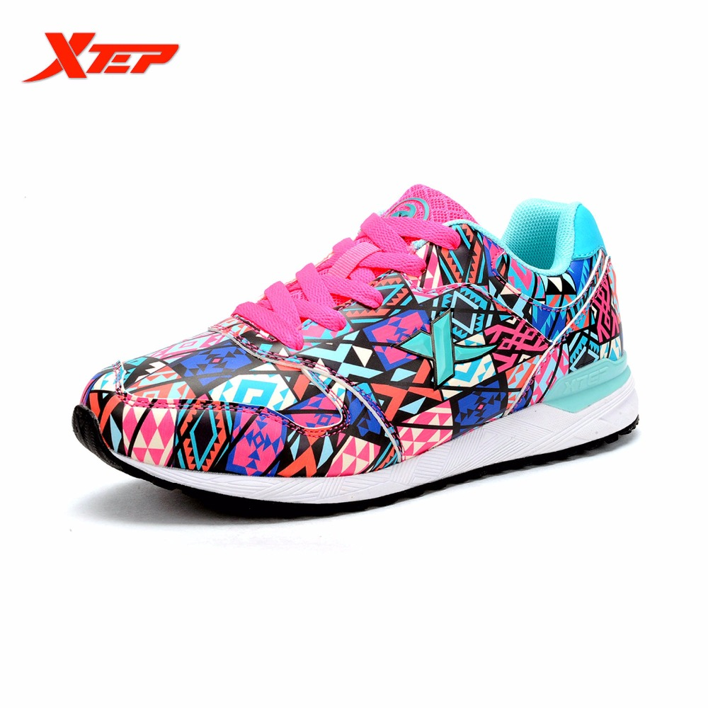 XTEP Original Brand Running Shoes for Women 2016 Autumn Winter Runners Trainers Sports Shoes Athletic Sneakers 984318329596
