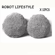 Hot sales original Grey clean cloth for wet Removable cleaning 12pcs robot window cleaner CCF