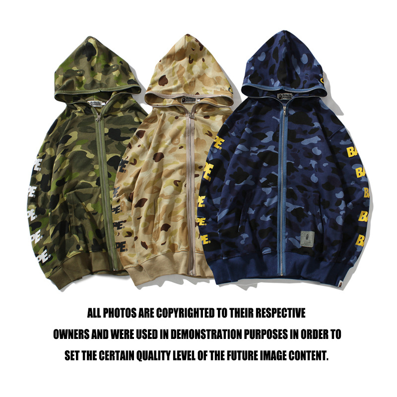 Bape shark hoodie sweatshirt black summer fashion camo bathing ape