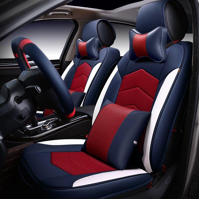 6D сиденья, Старший кожаный, спортивный автомобиль стиль, автомобиль-Стайлинг, универсальный сиденье Подушки для Lexus, rx, es, ct, GX и т. д. внедорож...