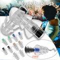 27db силиконовые наушники-вкладыши с фильтром для музыки затычки для ушей шумоподавление Защита слуха вкладыши многоразовый уход за сном для...
