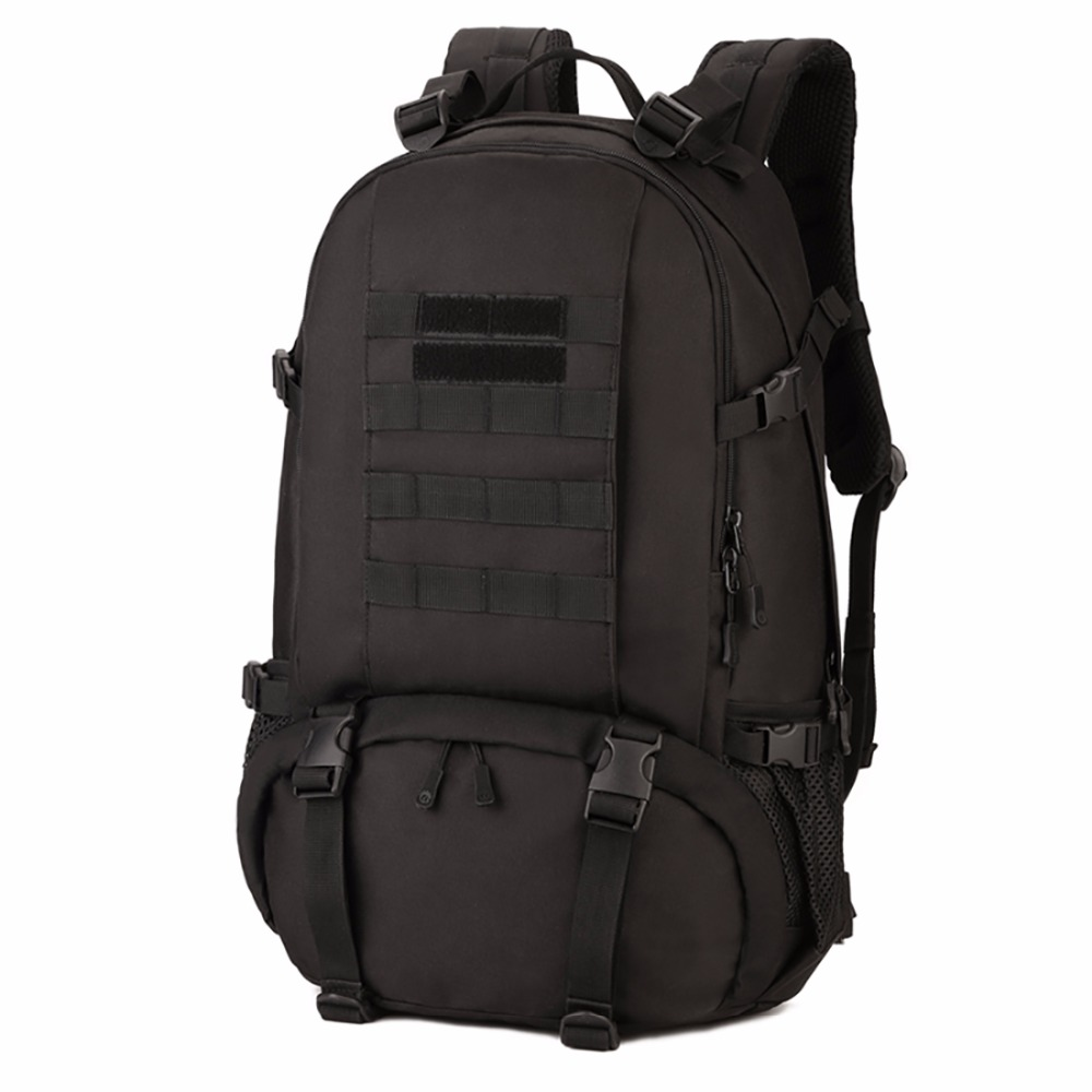 33d39d3356a6bb Waterproof Nylon Military Tactics Backpack 40L Large Capacity Men 15 Inch Laptop  Rucksack Kettle Bag Travel Hike Knapsack New-in Backpacks from Luggage ...