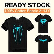 c1de8b3ca DMDM menbrana cerdo Superman 3D T camisa para las niñas de 12 años los niños  héroes
