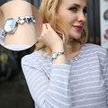 Ventas calientes! Kimio Reloj de Pulsera de Moda para Niñas de Señora Quartz Reloj de Diseño Elegante de Bronce Retro Reloj de Las Mujeres