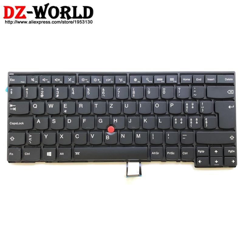 New Orig CH Swiss Backlit Keyboard for Thinkpad T440 T440S T431S T440P T450 T450S T460 Backlight