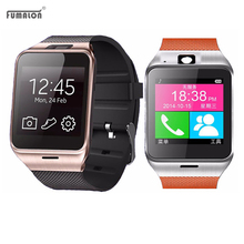 "GV18 SmartWatch Bluetooth Aplus Life waterproof smart watch Phone 1:55 ""NFC GSM SIM TF card camera watches for Android phones"
