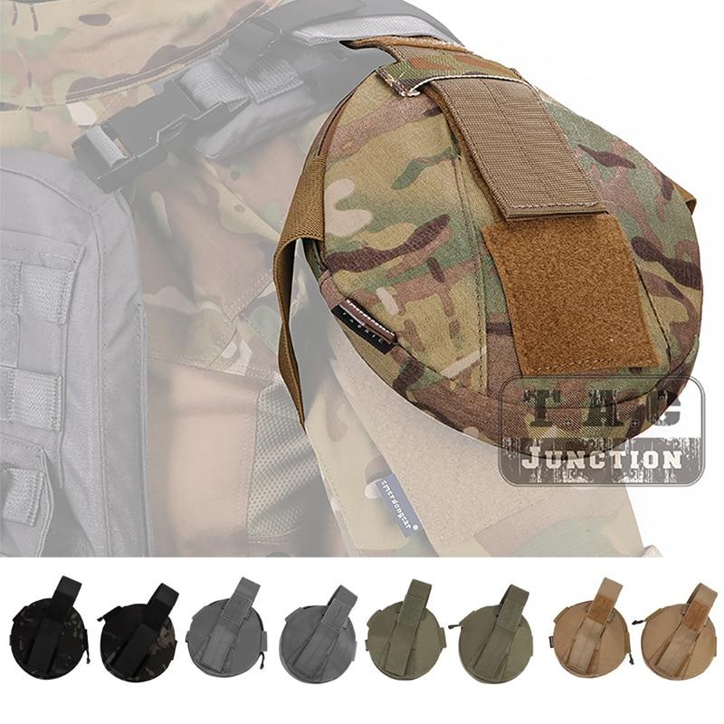 2 pcs Emersongear Tactical Shoulder Armor Pad Upper Arm Protection Shoulder Protector Armor Pouch For AVS CPC JPC Vest Emerson figurine