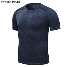 Refire Gear Men Women's Quick Dry Breathable Summer T-shirts Outdoor Yoga Camping Trekking Fishing Running Hiking Short Sleeves mege high quality quick drying outdoor men shirts army breathable clothes camisa pesca sports fishing trekking hiking clothing
