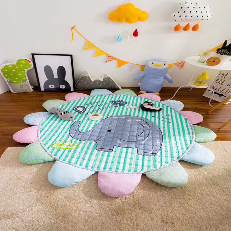 WINLIFE Kids Carpet Rugs Children Play Mat Crawling Puzzle Mat Kids Toys Cartoon Crawling Climbing Pad