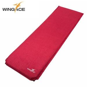 Надувной матрас WINGACE для кемпинга, складной замшевый Коврик для йоги, палатка для кемпинга, воздушный матрас 198*68*8 см