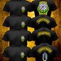 Verano Hombres Kaibil Kaibiles Francotirador Francotirador Guatemalteco Fuerza Especial Militar T-shirt de Algodón de Impresión de Ropa de Marca O de Cuello Camiseta