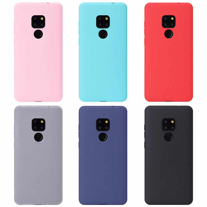 For Huawei Mate 20 Lite P20 P10 Mate 10 Pro Case On Honor 8C 8X Max 7X 7C 7A Pro Y5 Y6 Y9 2018 Clear TPU Back Cover Silicon case