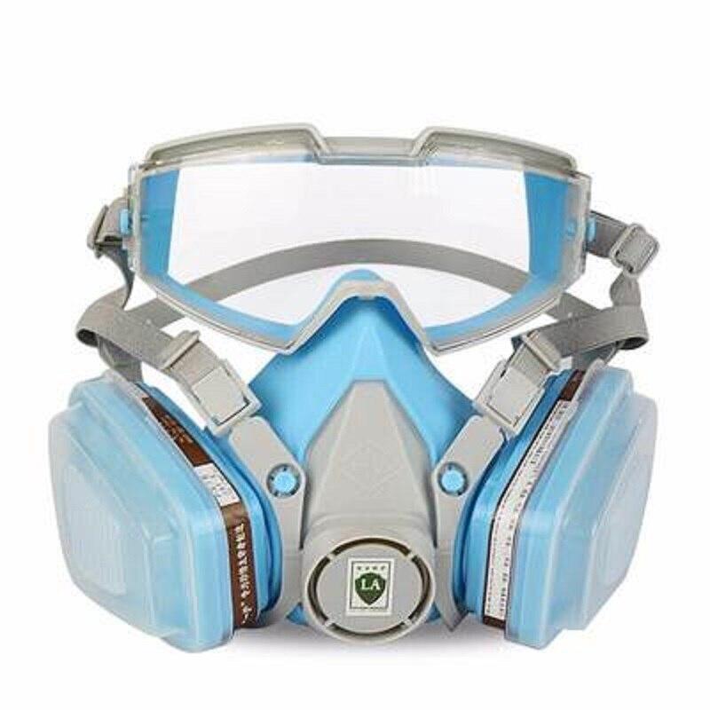 Противогаз, противотуманные очки, 6200, военные, дышащие, против РМ2, 5, Промышленная пыль, химический газ, полировка, покраска, защита для работ...