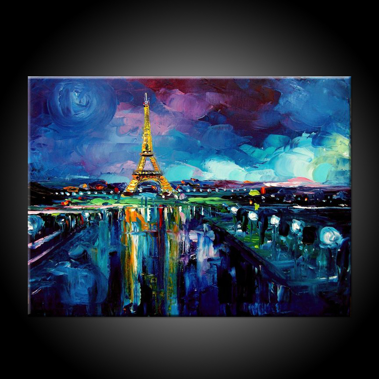 Online get cheap famous landscape oil painting aliexpress for Imagenes de cuadros abstractos famosos