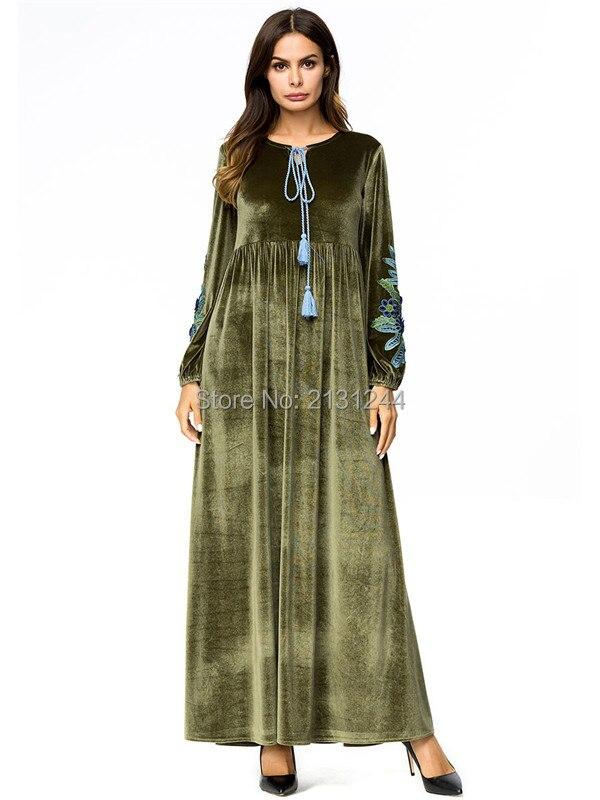 long sleeve loose dress605