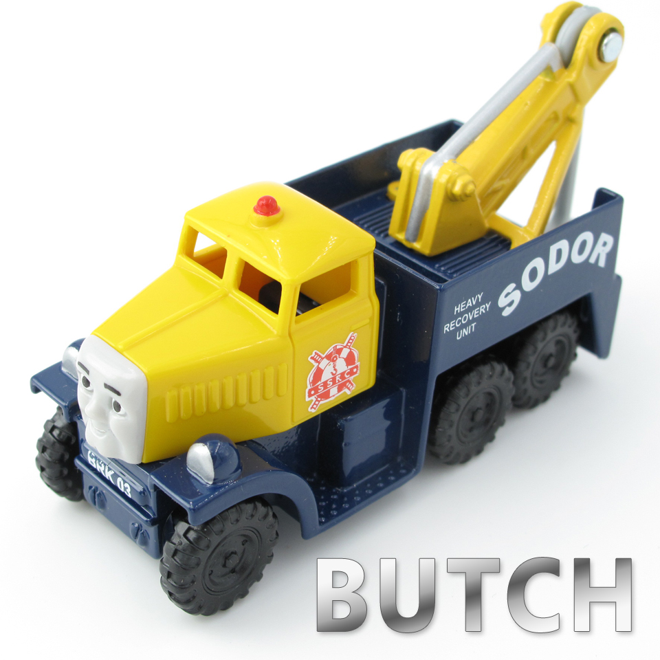 Diecasts Vehicles Thomas T020D BUTCH Thomas And Friends Magnetic Tomas Truck Car Locomotive Engine Railway Train Toys for Boys