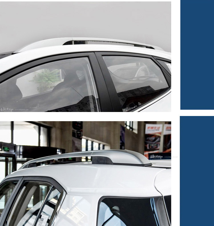 Hot roof rack roof rail roof bar luggage bar for Hyundai IX35 2018+,thicken aluminum alloy,5yearss quality guarantee factory.