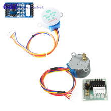 Raspberry pi kit 1LOT 5-12V 4-Phase Stepper Step Motor + Driver Board ULN2003 /L298with drive Test Module Machinery Board