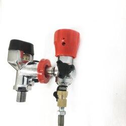 AC101 de alta presión grandes de Gas cilindro pequeño cilindro de Gas incluyen Manguera con compresor de aire Pcp para el Rifle de aire Acecare