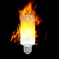 RAYWAY E14 E27 2835 SMD 6W 3 Modes LED Flame Effect Fire Light Bulbs Flickering Emulation