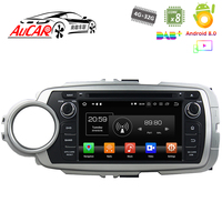Touch screen for Toyota Yaris car dvd player GPS Multimedia player system HD Bluetooth Radio WIFI 4G AUX touch screen 2 din