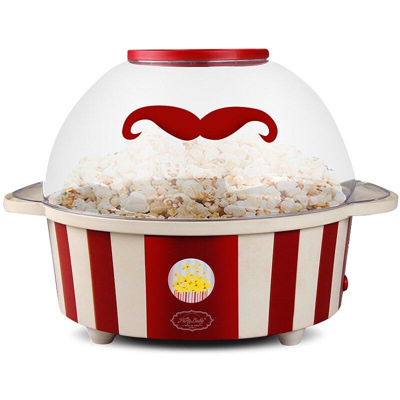 Fully automatic Mini popcorn machine  Household Food machine Can put sugar oil Free shipping popcorn hour с 200