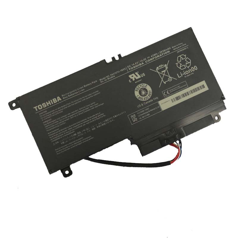 14.4V 43Wh Original Laptop <font><b>Battery</b></font> For <font><b>Toshiba</b></font> <font><b>Satellite</b></font> L55 <font><b>L50</b></font> <font><b>L50</b></font> L55t -A 2838mah piles P50 - A PA5107U -1BRS Free shipping image