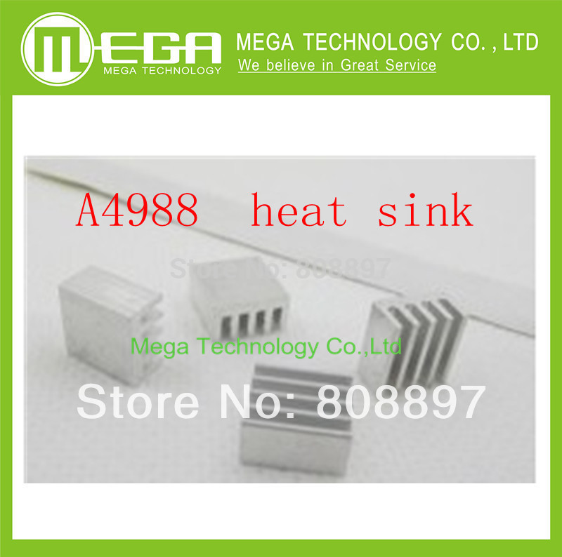 Free Shipping 5pcs/lot Heat Sink For A4988 A4983 Stepper Driver