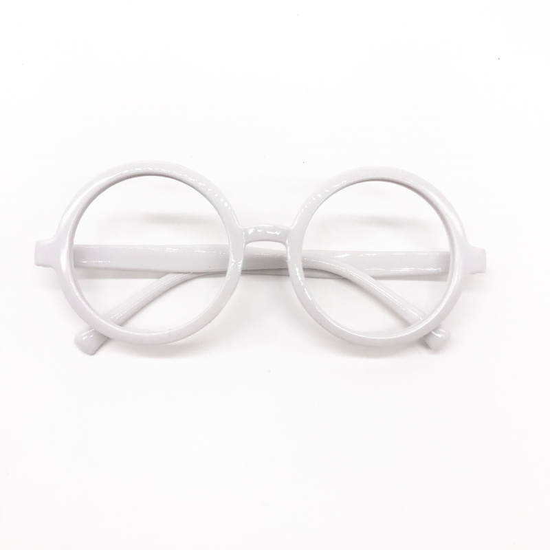 2c4f8473e0 Aliexpress.com   Buy 36 Pairs Adult Plastic Wizard Glasses Round Glasses  Frame No Lenses for Halloween Costume Party Supplies it s a boy Party  Favors from ...