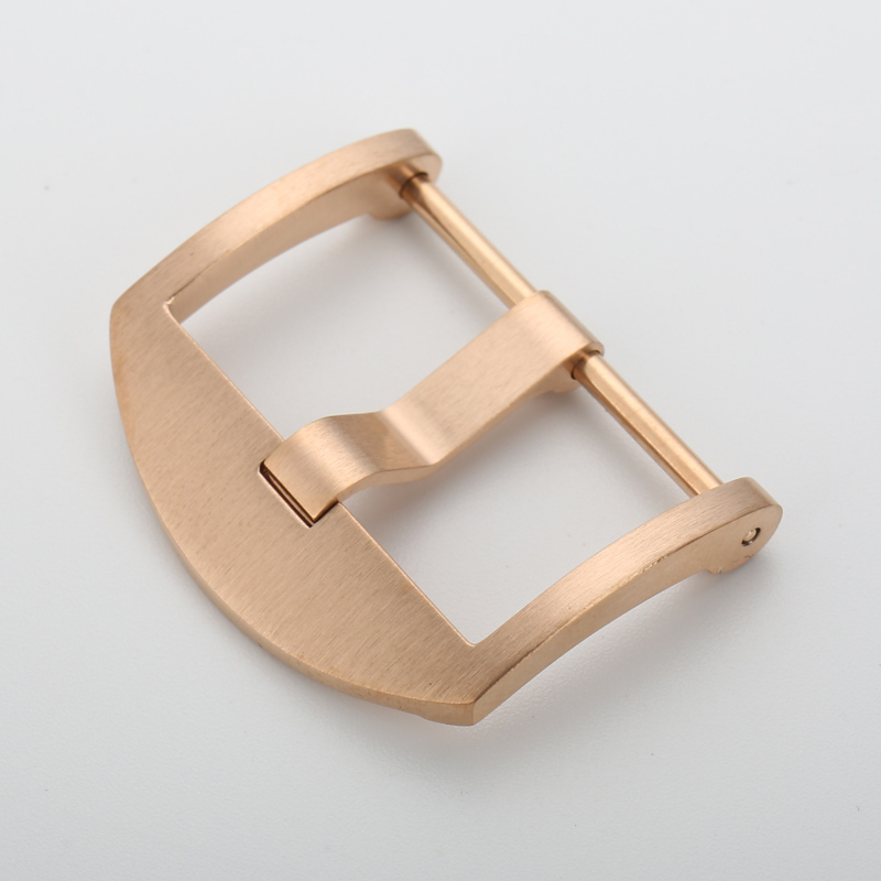 MAIKES new 20mm 22mm 24mm 316L stainless steel rose gold watch buckle clasp for panerai maikes new 20mm 22mm 24mm 316l stainless steel rose gold watch buckle clasp for panerai