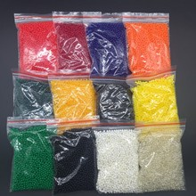 600g/lot 12 Colors New Crystal Mud Soil Water Beads Hydrogel Gel Orbiz Ball For Flower/Weeding Home Deraction SJ018