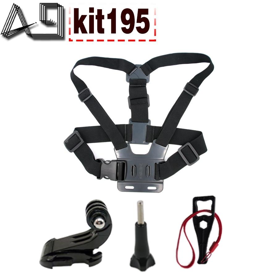 A9 Pour camera Action accessoires sangle de poitrine pour Gopro hero 5 4 3/xiaomi yi 4 K/eken h9/SJCAM