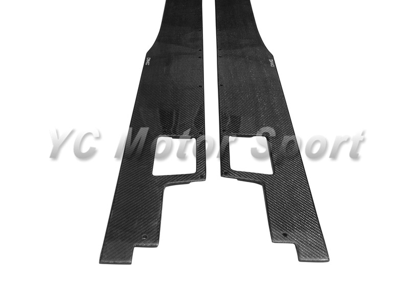 Carbon Fiber Side Skirt Fit For 2011-2014 Aventador LP700 DMC Molto Veloce Base Package Style Side Skirt Under Board Diffuser