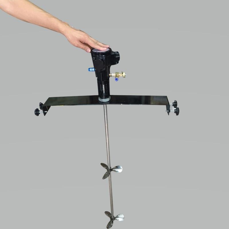 PAMRARC 50 Gallon Industrial Mixer Industrial Agitator  Paint Glue Mixer Horizontal Or Wall Clamping