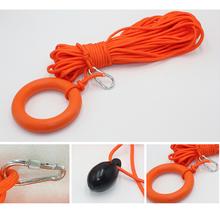 Water Buoyant Floating Ring Float Buoy Safety Life Saving Rope Non-slip Surface Rings for Swimming Canoeing Kayaking