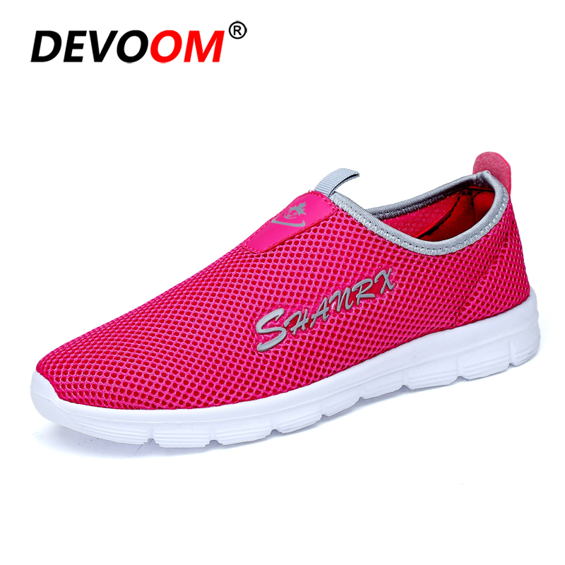 2018 Summer Air mesh Shoes Women Casual Sneakers Women Flat Shoes New Fashion Lovers Unisex Beach Shoe Casual Sandals Large Size fashion women casual shoes breathable air mesh flats shoe comfortable casual basic shoes for women 2017 new arrival 1yd103