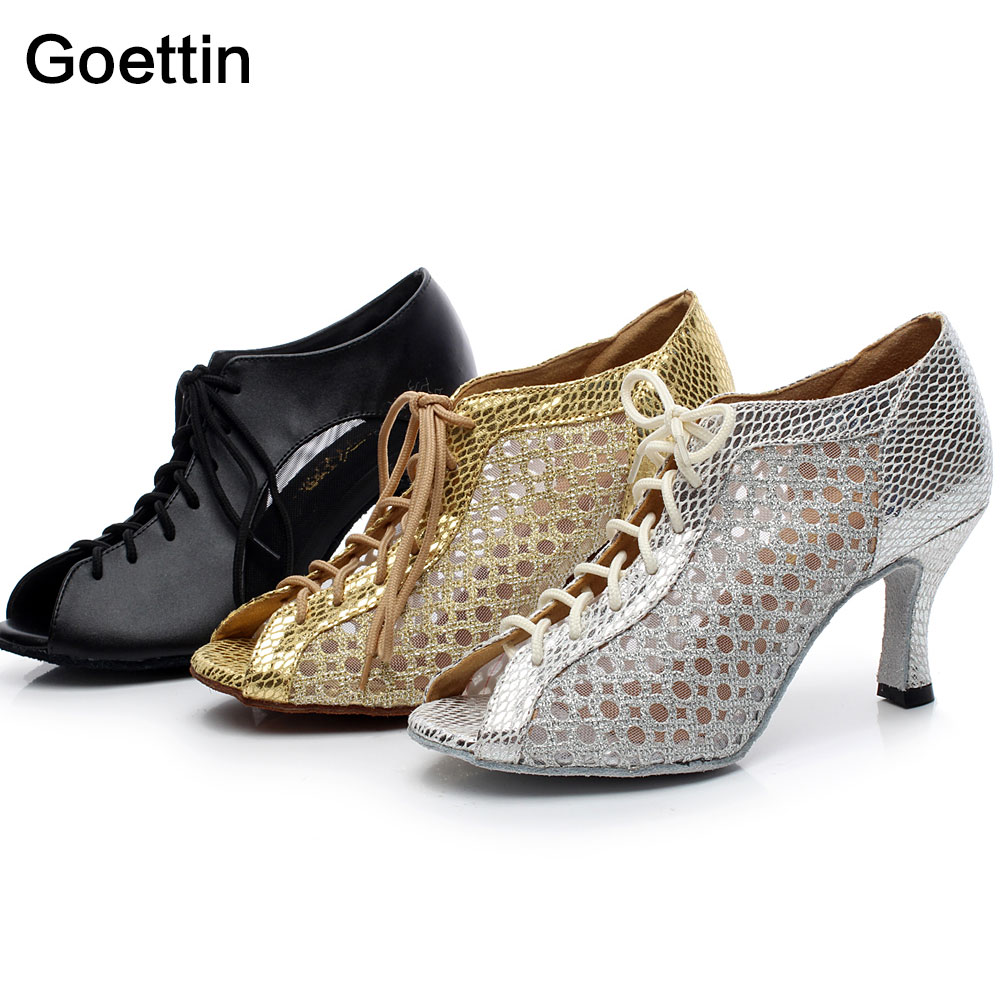 2017 New Arrival Model 5006 Women Latin Dance Shoes Ballroom Sko for kvinner